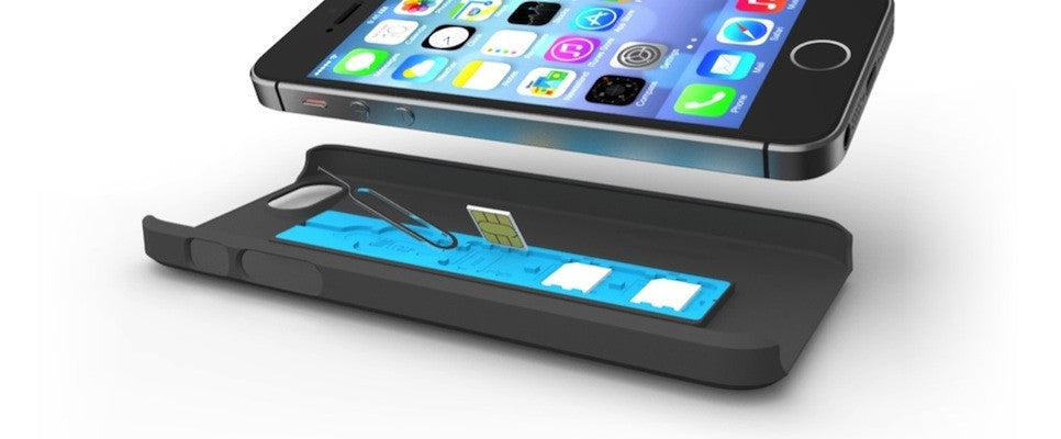 SIMPLcase travel case for iPhone 5s / 5