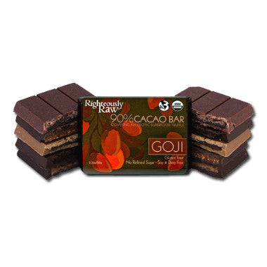 Raw Goji Chocolate Bar