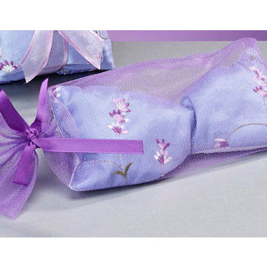 Lavender Embroidery Eye Pillow