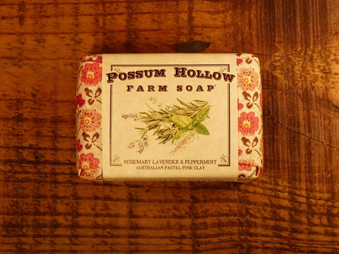 Rosemary Lavender Peppermint Soap