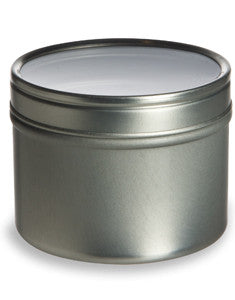 Deep Tin with Clear Lid - 8oz