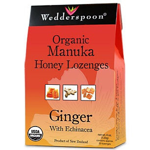 Ginger Manuka Honey Lozenges
