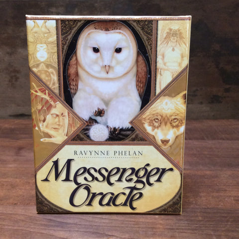 Messenger Oracle Deck & Book