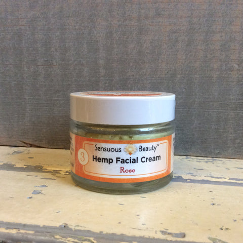 Hemp Facial Cream Rose