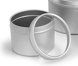 Deep Tin with Clear Lid - 16oz