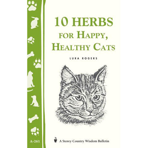 Ten Herbs for Happy Heathy Cats