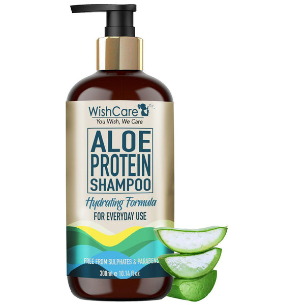WishCare Aloe Protein Shampoo - Hydrating Formula - 300ml