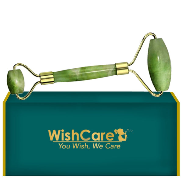Authentic Jade Roller - Face Massager Tool - WishCare