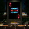 always bet on yourself poker wall art