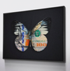 earn your wings canvas wall art in black