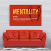 jurgen klopp - these boys are fucking mentality monsters motivational canvas wall art for the office