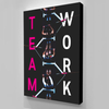 teamwork definition wall art for the office