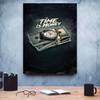 time is money canvas wall art