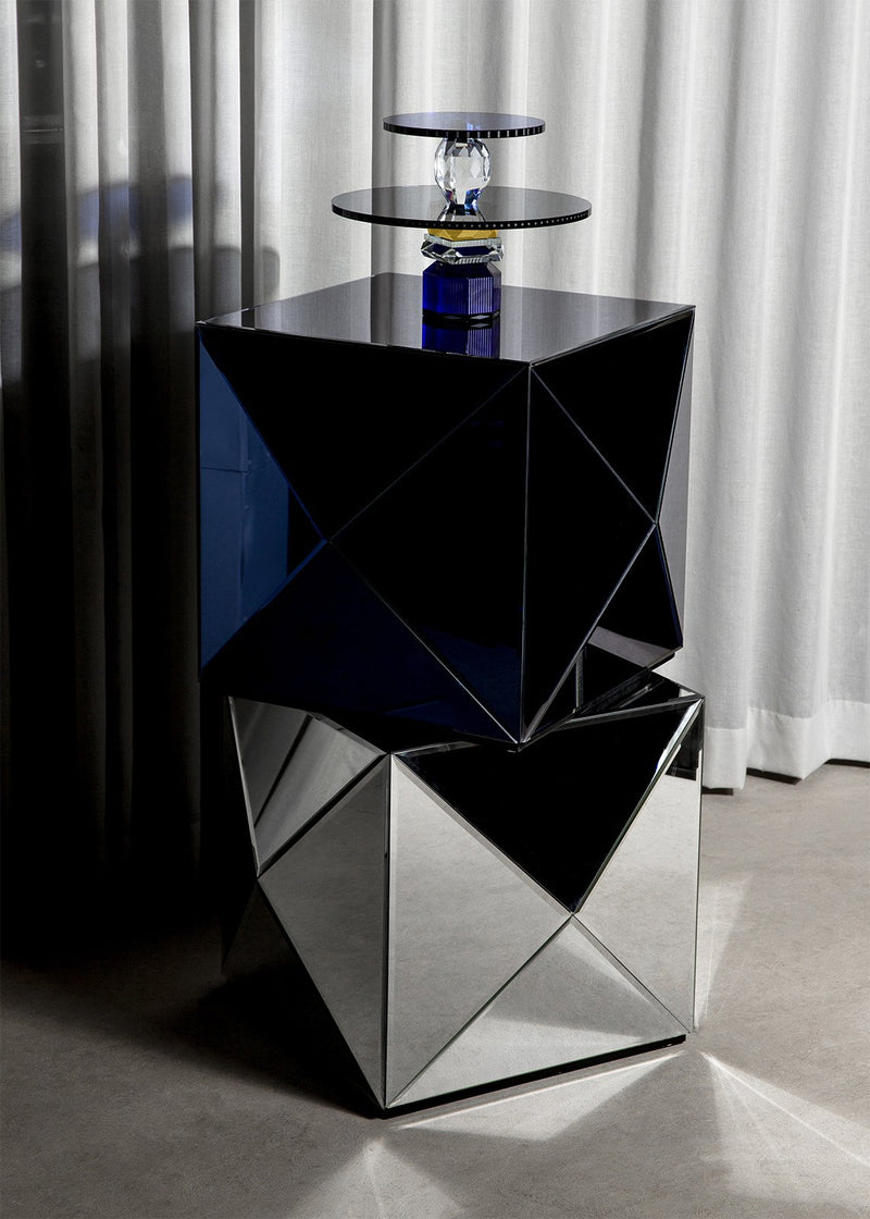 GLAM ROCK TABLE COBALT