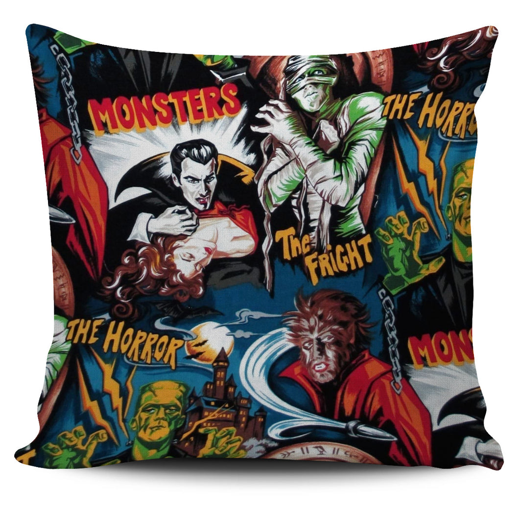 Universal Monster Pillow Cover