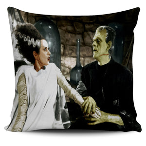 Bride of Frankenstein (Color) Pillow Cover