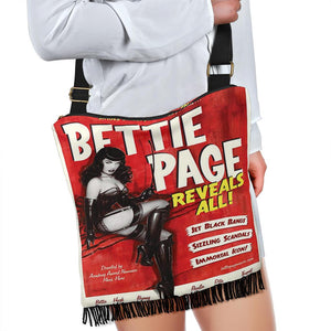 Bettie Page Reveals All Shoulder Bag - Wildly Untamed