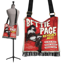 Load image into Gallery viewer, Bettie Page Reveals All Shoulder Bag - Wildly Untamed