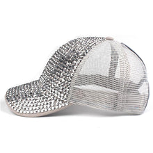 Load image into Gallery viewer, Blinging Time Ponytail Trucker Cap - Wildly Untamed