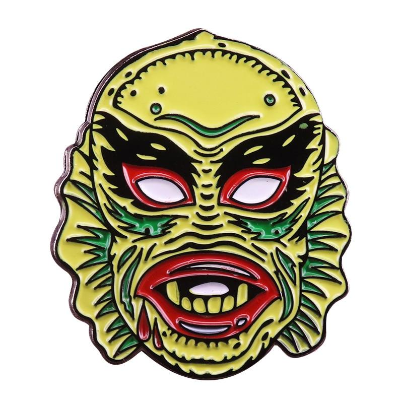 Creature from the Black Lagoon Enamel Pin - Wildly Untamed