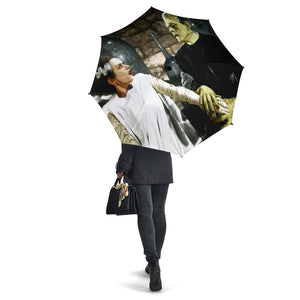 Bride of Frankenstein (Color) Umbrella