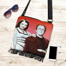 Load image into Gallery viewer, Herman and Lily Munster Boho Handbag