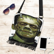 Load image into Gallery viewer, Frankenstein Fringe Boho Bag