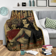 Load image into Gallery viewer, The Vampira Show Blanket