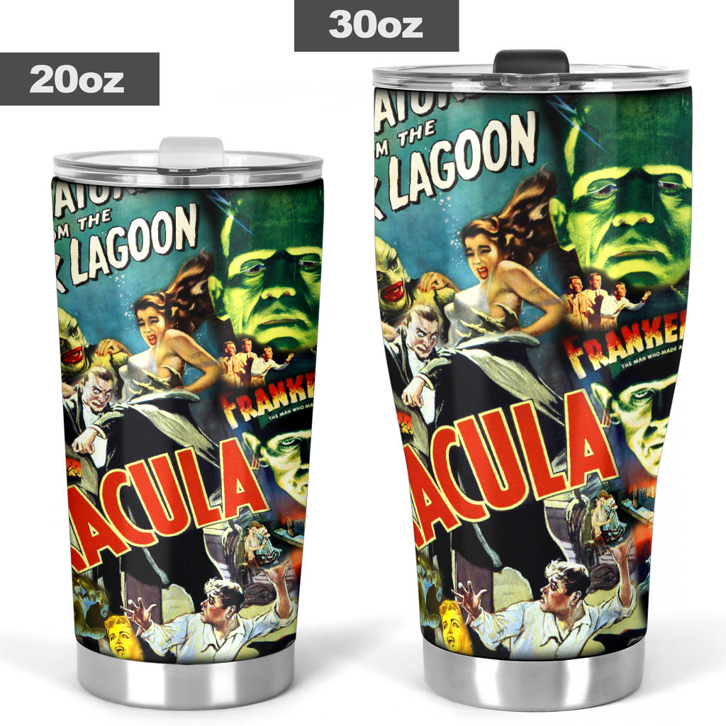 Universal Monsters Tumblers