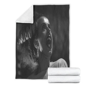 The Bride of Frankenstein Blanket