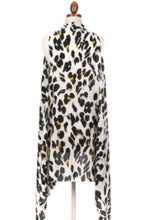 Load image into Gallery viewer, Leopard Print Kimono (White) - Wildly Untamed