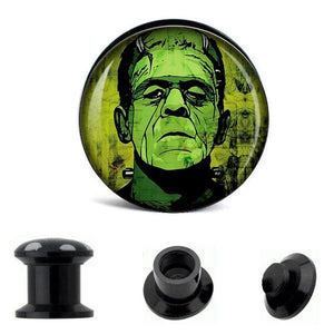 6 PACK Classic Monsters Ear Plugs Piercing
