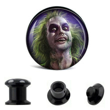 Load image into Gallery viewer, 6 PACK Classic Monsters Ear Plugs Piercing