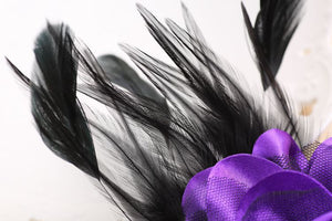 Fabulous Feather Brooch Corsage - Wildly Untamed