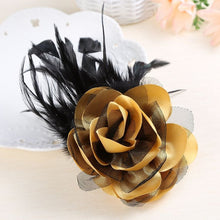 Load image into Gallery viewer, Fabulous Feather Brooch Corsage - Wildly Untamed