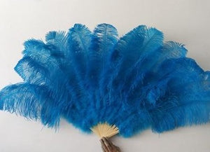 Glam Queen Ostrich Feather Fan