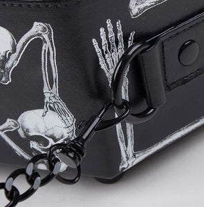 Skull Coffin Purse