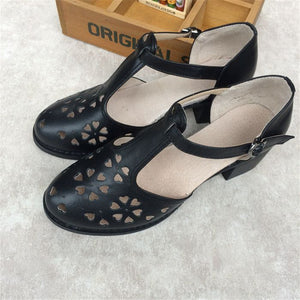 Retro Lily Oxford Shoes - Wildly Untamed