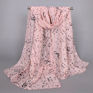 Love of Music Scarf