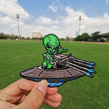 Load image into Gallery viewer, Mars Attacks and UFO Iron-On Patches