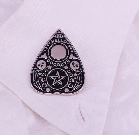 Magic Ouija Enamal Pin