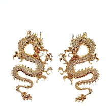 Load image into Gallery viewer, Dragon Lady Stud Earrings
