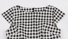 Load image into Gallery viewer, Roxy's Retro 50s 60s Plaid Dress