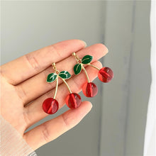 Load image into Gallery viewer, Sweet Cherry Earrings