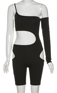 Hollow Out Bodysuit