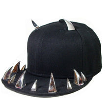 Load image into Gallery viewer, Horn Rivets Baseball Snapback