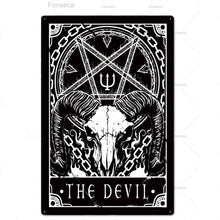 Load image into Gallery viewer, Tarot Metal Signs