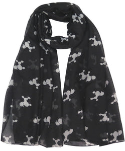 White Poodle Scarf - Wildly Untamed
