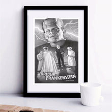 Load image into Gallery viewer, The Bride Of Frankenstein Vintage Poster