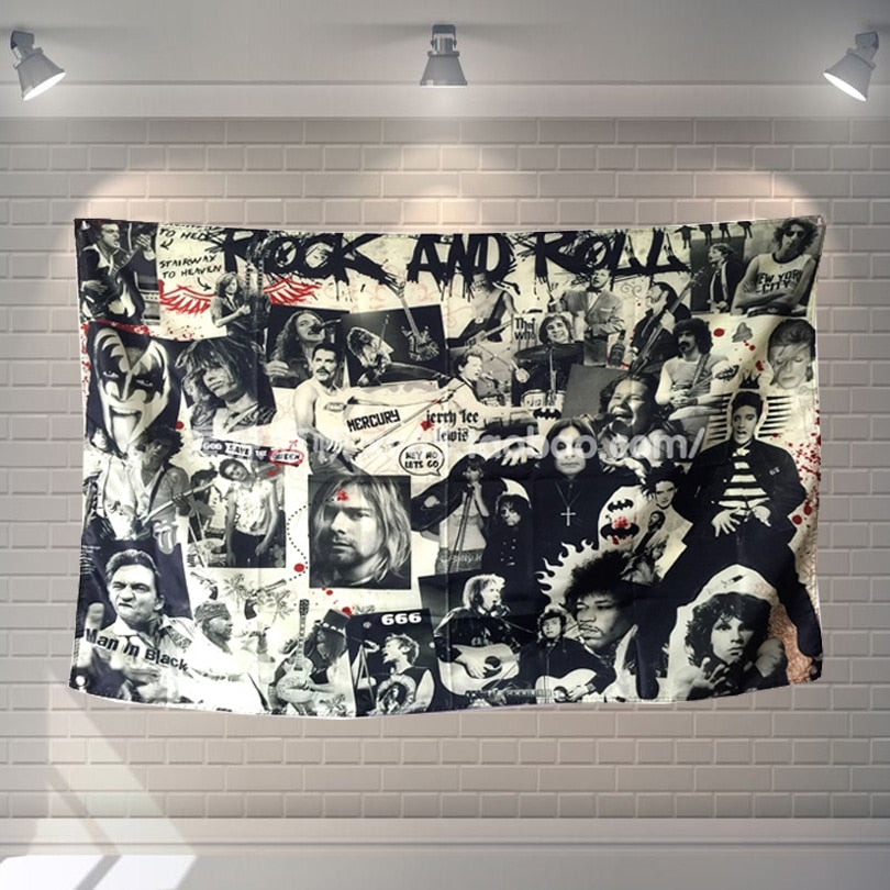 Legend Rock & Roll Icon Banner